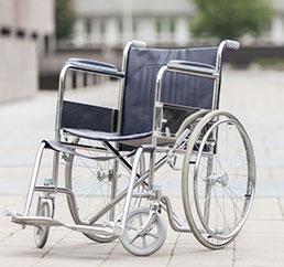 noleggio sedia rotelle